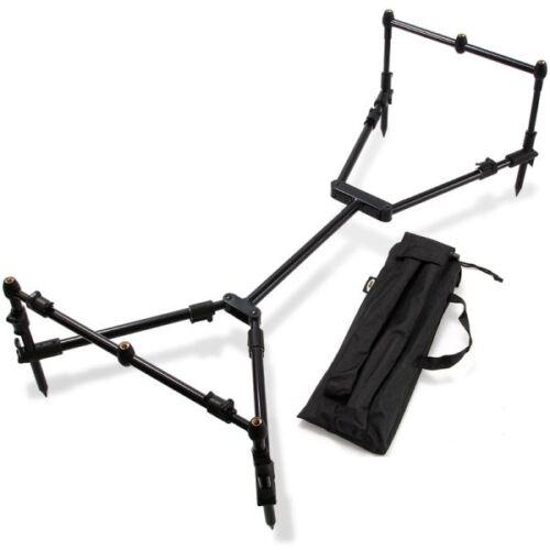 Carp geringes Packmaß stabil Tasche schwarz Rod Pod inkl black Nomadic