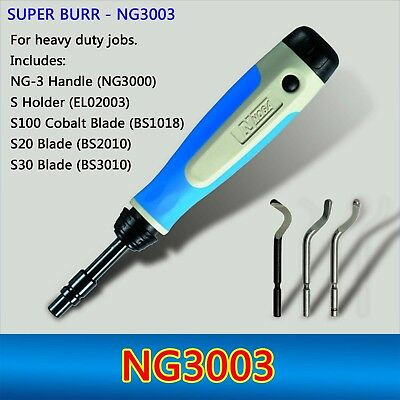 10PCs BS1018 Deburring  Blades S100 Blade With 1pcs NB1000 Burr Handle