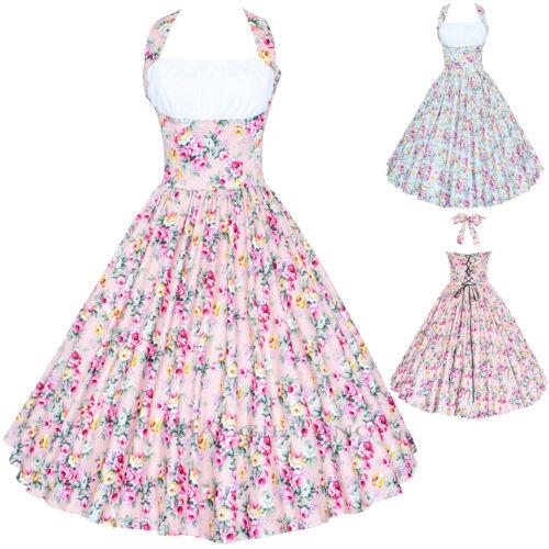 Maggie Tang 50er 60er abendkleid cocktail Kleid Petticoat Rockabilly Gr34-46 09