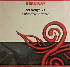 Bernina Art Design V1 Embroidery Software Cd Rom Ebay