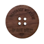 Crochet Custom 20mm Wooden Walnut Buttons for Handmade Products Sewing