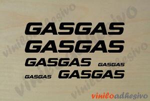 PEGATINA STICKER VINILO GasGas ref3 trial autocollant aufkleber adesivi gas gas
