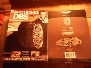 Build Your Own Aston Martin DB Th James Bond Part Magazine - Build your own aston martin