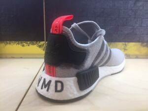 adidas NMD R1 Stencil Pack Grey White Black Red Men Sz 8-13 New DS ... 733162121