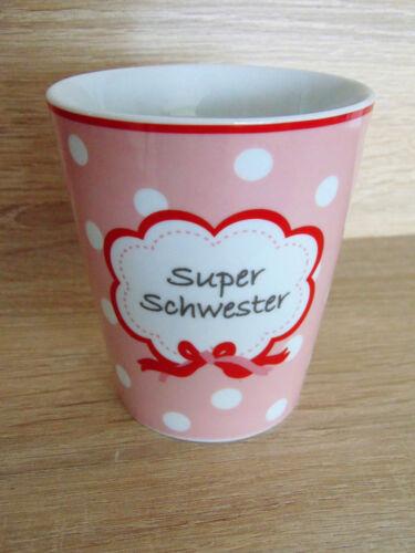 Happy Mug Keramik Krasilnikoff bunt Tasse Kaffeebecher Tee