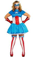 The Avengers Captain America Dream Female Adult Costume Plus Size 18-20 New 586