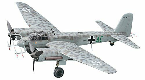 Hasegawa 1 72 Junkers Ju88G-6 Nacht Jager Model Kit NEW from Japan