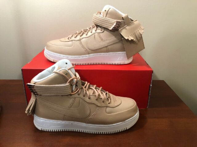 Nike Air Force 1 High SL Decades of Basketball Vachetta Tan 919473,200 Sz9  Tisci