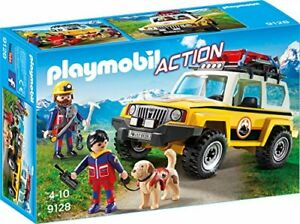 PLAYMOBIL-Bergretter-Einsatzfahrzeug-Kinder-Auto-Spielfiguren-Spielzeug-NEU