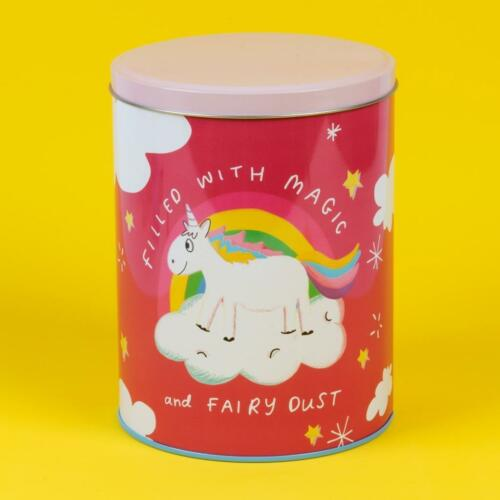 Beautiful Novelty Storage Cookie Tin With Funny Quotes Magic HN218