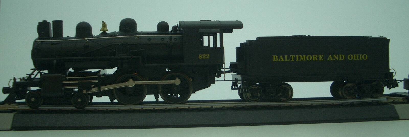 HO IHC   MEHANO 4-4-0 AMERICAN   BALTIMORE AND OHIO  ROAD   822   M804 DCC READY
