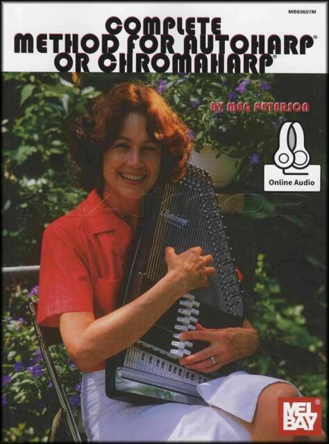 Complete Method for Autoharp or Chromaharp Music Book/Audio SAME DAY DISPATCH
