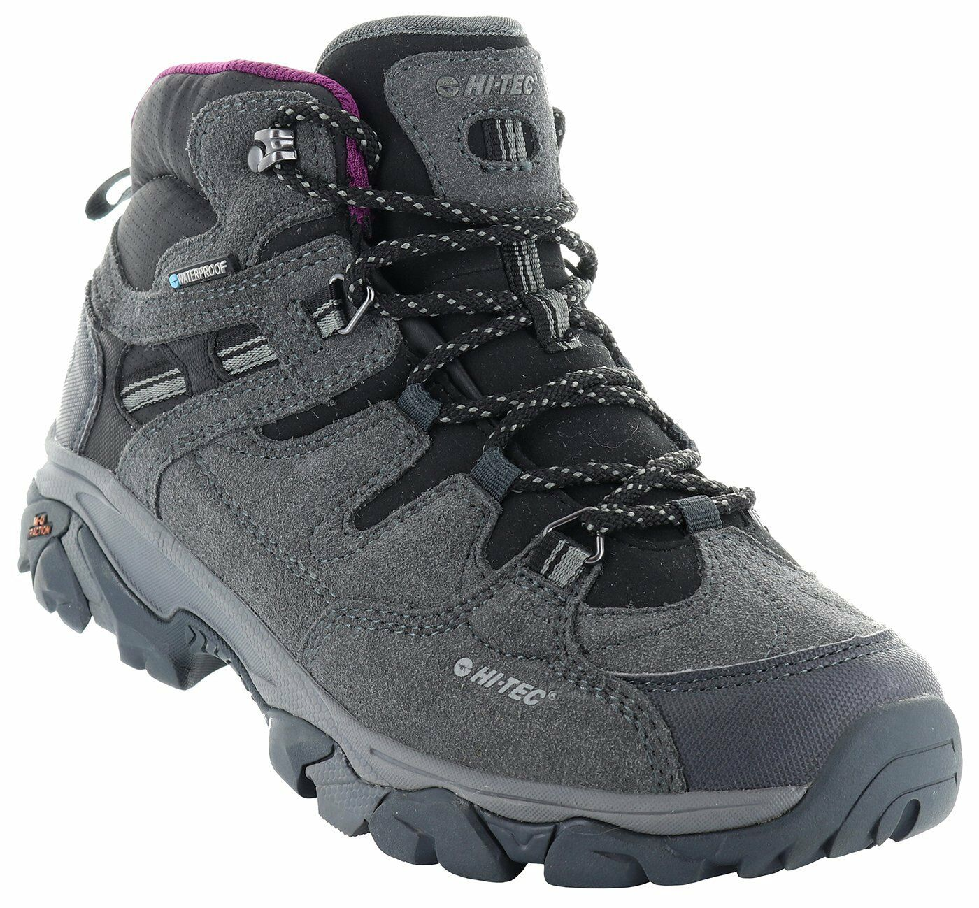Hi-Tec Ravus Adventure Mid Waterproof Womens Walking Trainers Hiking UK7-13