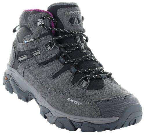 Hi-Tec Ravus Adventure Mid Waterproof Womens Walking Trainers Hiking UK7-13