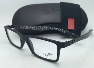 492f34c034 New RAY-BAN Eyeglasses TECH SERIES RB 8901 5263 53-17 Black   Carbon ...
