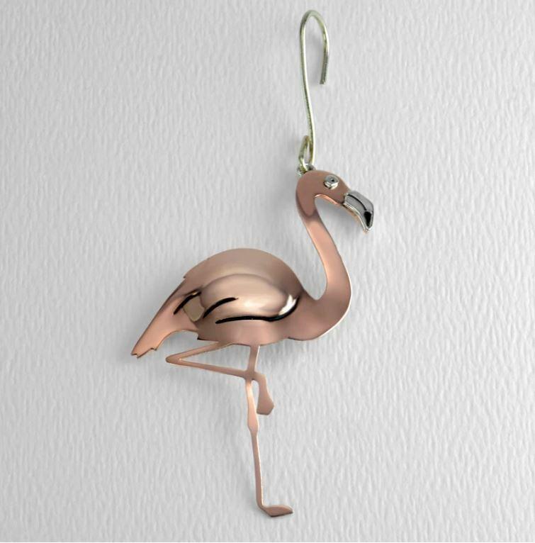 Far Fetched Jewelry DACHSHUND Dog ORNAMENT CHARM O163 Copper Silver handmade