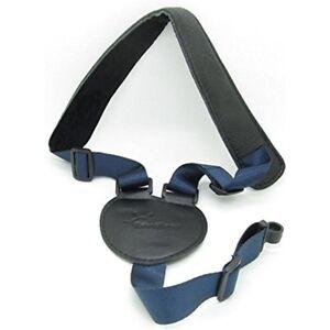 Straps-Dark-Blue-Black-Guitar-Mandolin-Ukelele-Acoustic-With-Plastic-Sound-Hole