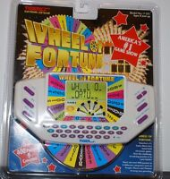 Wheel Of Fortune Portable Electronic Lcd Handheld Game - Tiger - 1996 Sealed