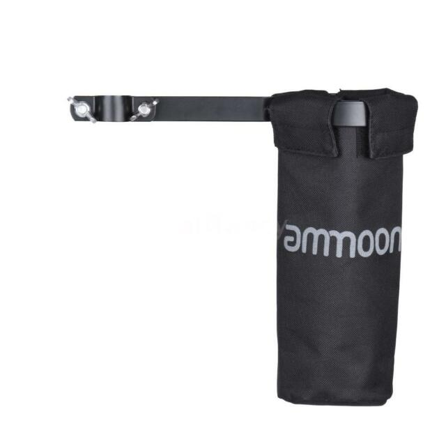 ammoon Drum Stick Holder Drumstick Bag 600D with Aluminum Alloy Clamp for I1J7