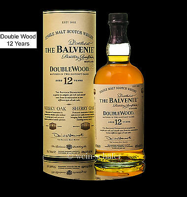 BALVENIE The Double Wood 12 Jahre - Speyside Single Malt Scotch Whisky