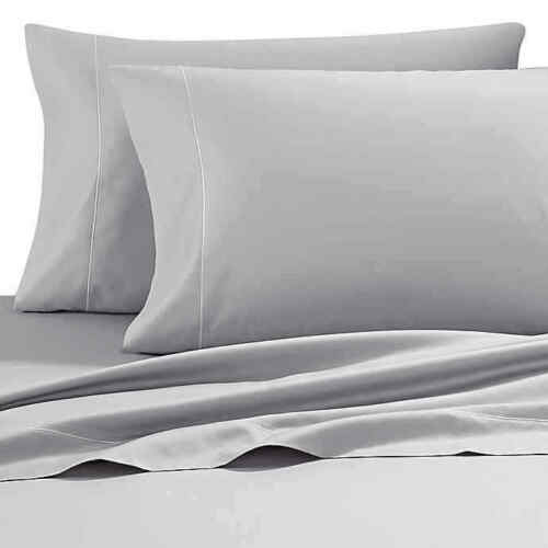 Wamsutta PimaCott 500-Thread-Count Twin XL Sheet Set in Silver