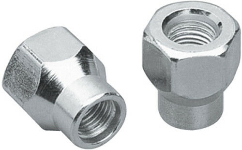 Set of 24 Chrome 12x1.25 ET Extended Thread Open Ended Lug Nuts 1993-2011
