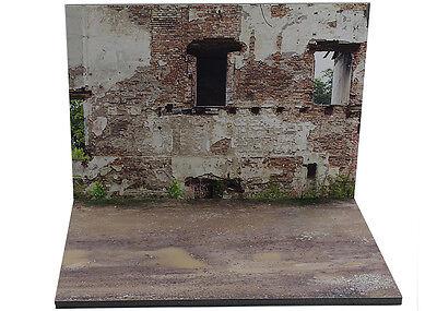 Responsabile Diorama Présentoir Ruines / Ruins - 1/43ème - #43-2-b-b-006