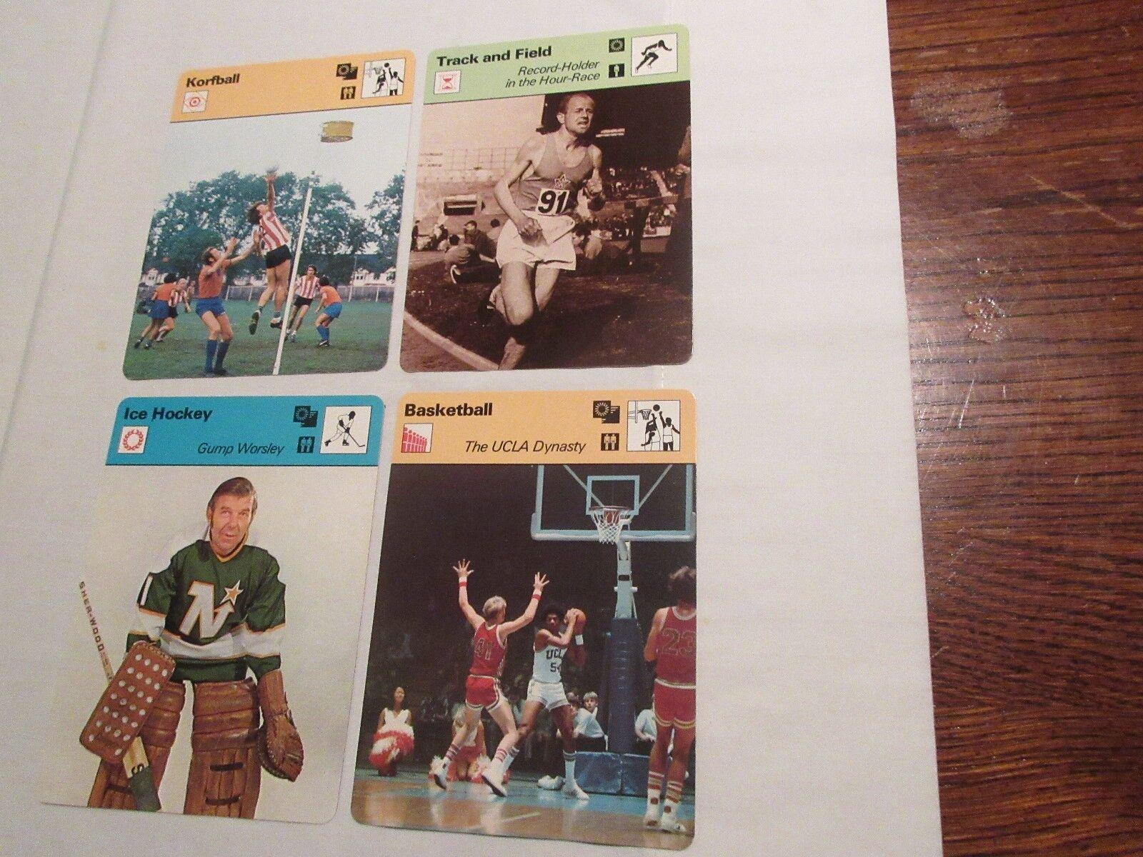 Sportscaster Cards ,1978 ,Deck # 06 ,Cards # 1-24 , Gum