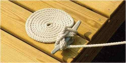 "6/"" Cast Iron Dock Cleat Galvanized Multipurpose Rope Tie Down Anchor Marine Boat"