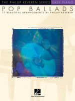 Pop Ballads Sheet Music Easy Piano Songbook 000220036