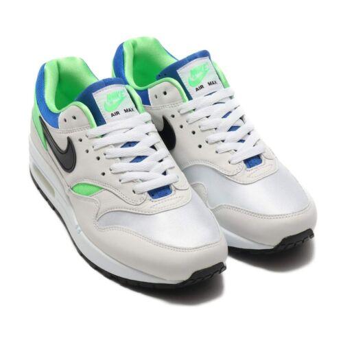 Nike Air Max 1 DNA CH.1 White//Black-Royal Blue-Scream Green 19HO-S Size 9.5 US