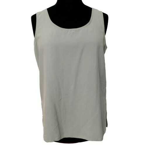100% Silk Selene Paris Sport Sleeveless Tank Top B