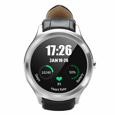 NO.1 D5 Android 4.4 WIFI Bluetooth Smart Watch 4GB GPS Google Heart Rate Silver