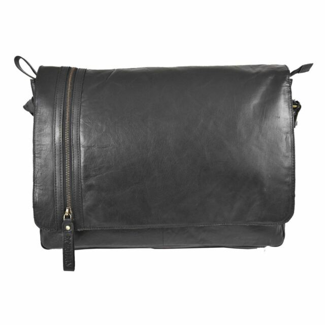7a6181f49 Rowallan Cedarwood Cognac Leather Top Handle Briefcase Mens Business ...