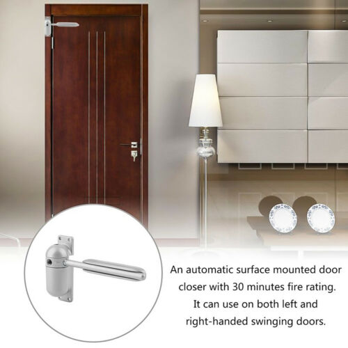 Household Automatic Strength Spring Door Closer Hinge Fire Rated Door Channel US