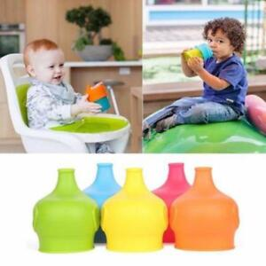Silicone-Sippy-Cup-Lids-Spill-Proof-Elegant-Elephant-Design-LC