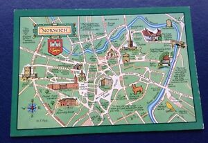 Norwich Map Results