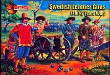 Mars Figures 1/72 SWEDISH LEATHER GUNS Thirty Years War Figure Set