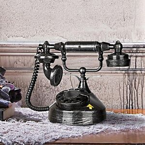 """Victorian Rotary Design Haunted Phone Animated Halloween Prop """"SEE VIDEO"""""""
