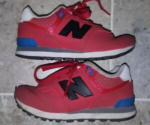 pretty nice ba8bf de6b8 Details about NEW BALANCE 574 BOY'S SIZE US10.5 GREAT RED COLOR!!!