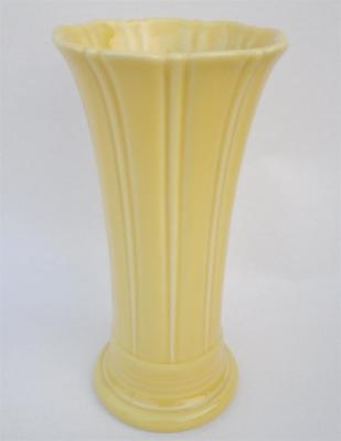 Yellow Fiesta Fiestaware 9 9 58 Medium Flared Vase Homer Laughlin