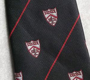 Amical Vintage Cravate Homme Cravate Shield Crested Club Association Society-afficher Le Titre D'origine Complet Dans Les SpéCifications