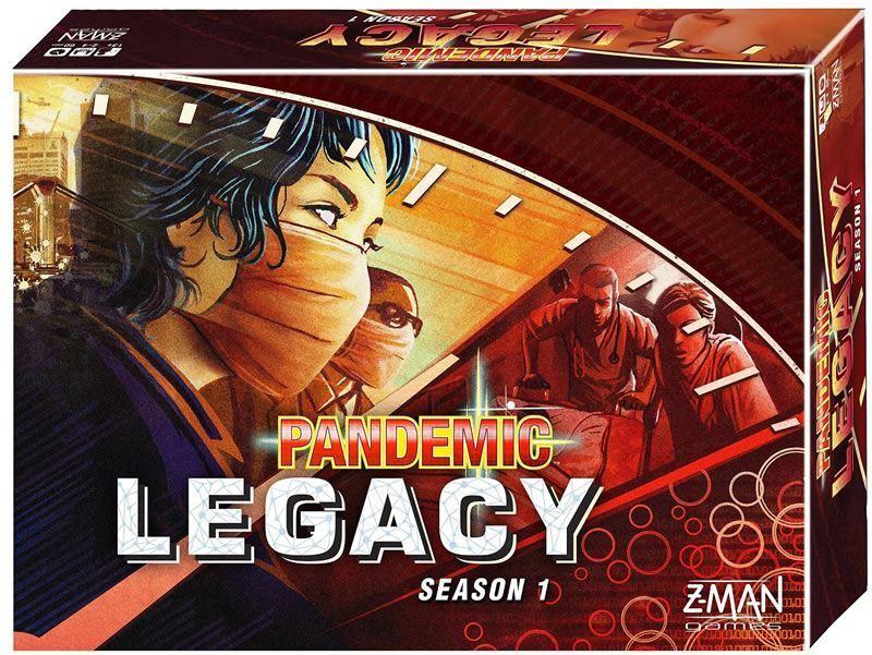 vendiendo bien en todo el mundo Z-Man Juegos pandemia legado temporada 1 Caja Caja Caja Juego De Mesa-Rojo  ahorra hasta un 70%