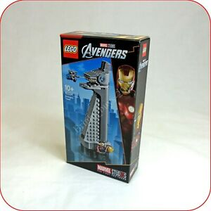 # Lego 40334 Marvel Avengers Tower 10th Anniversary Exclusive Set, Dgsim Nouveau-afficher Le Titre D'origine Renforcement De La Taille Et Des Nerfs