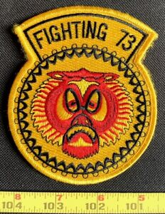 US Military VF-73 Fighter Squadron Fighting 73 Embroidered Iron On Patch