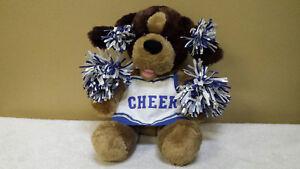 15-034-Cheerleader-Dog-with-Pom-Poms-Plush-Toy-Doll-Stuffed-Animal-Build-A-Bear