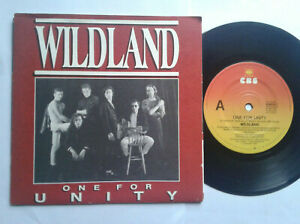 Wildland-One-For-Unity-7-034-Vinyl-Single-1989-mit-Schutzhuelle