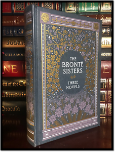 Bronte-Sisters-Jane-Eyre-amp-Wuthering-Heights-amp-Agnes-New-Leather-Bound-Hardback