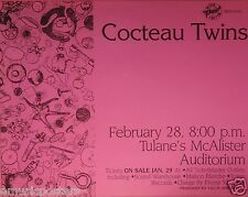 COCTEAU TWINS 1995 NEW ORLEANS CONCERT TOUR POSTER - Calendar Cafe Artwork