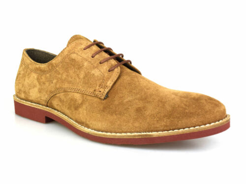 Red Tape Bromham Tan Suede Homme Formelles Chaussures UK Gratuit p/&p RRP £ 45!